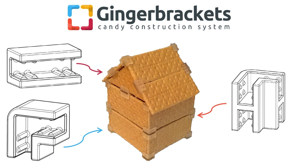 Gingerbrackets: Candy Construction System project video thumbnail