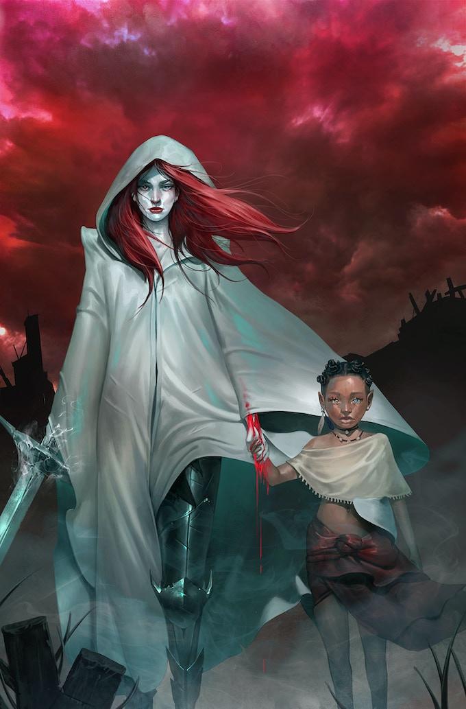 ESSESSA: The Fallen #1 Cover by ClonerH