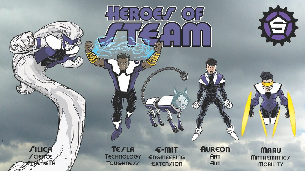 Heroes of STEAM: Using Comics and Gaming to Inspire Learning project video thumbnail