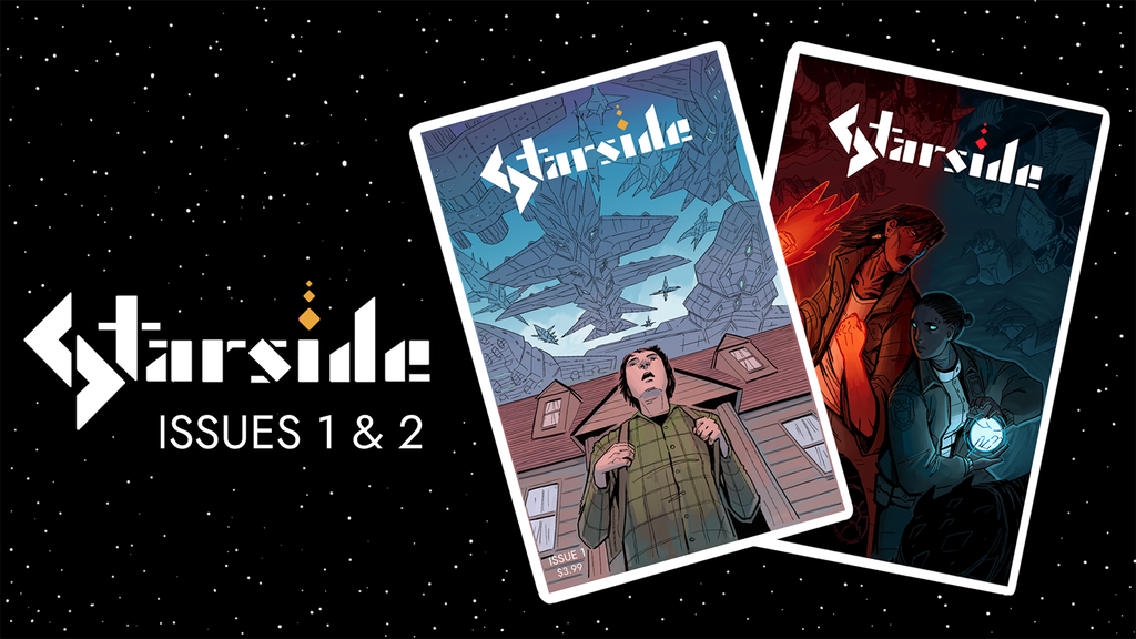 Starside - Issues 1 & 2 project video thumbnail