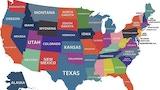 American US States - Board Game thumbnail
