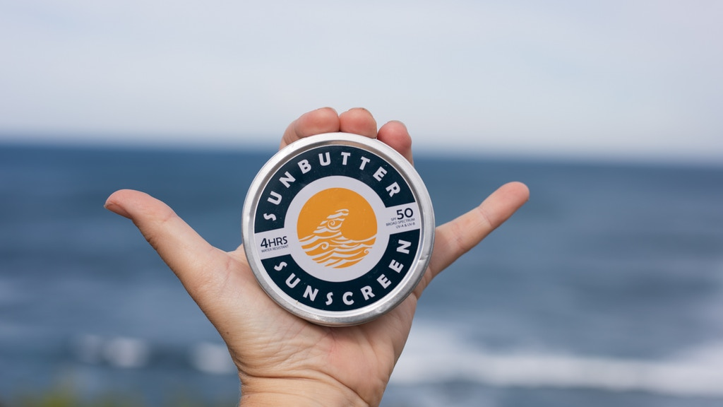 SunButter SPF50 reef safe sunscreen :: BREAK KICKSTARTER