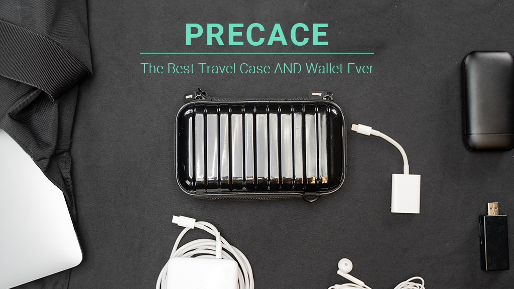 PRECACE: The Shock-proof Organizer for Digital Accessories project video thumbnail