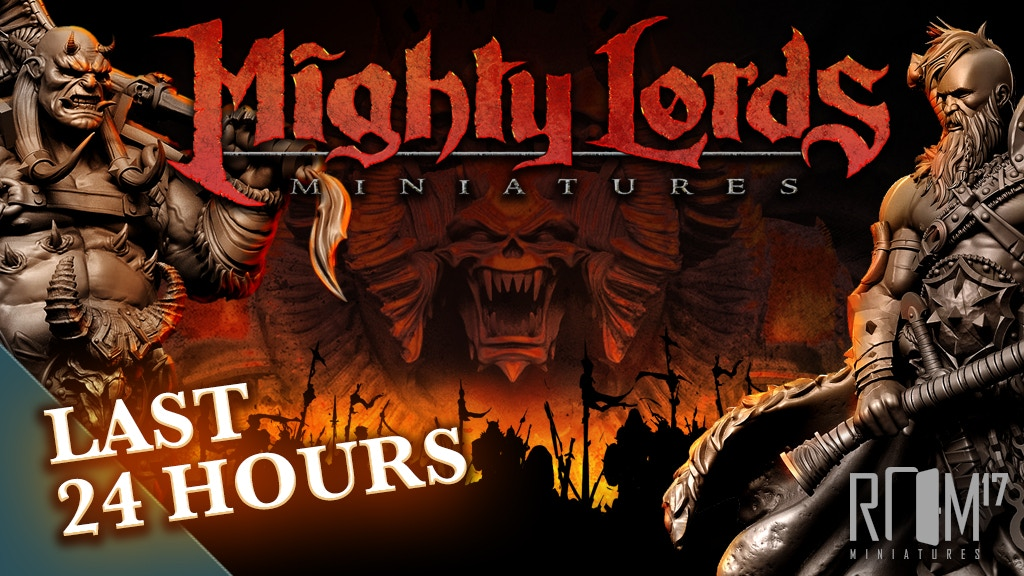 Mighty Lords Miniatures project video thumbnail