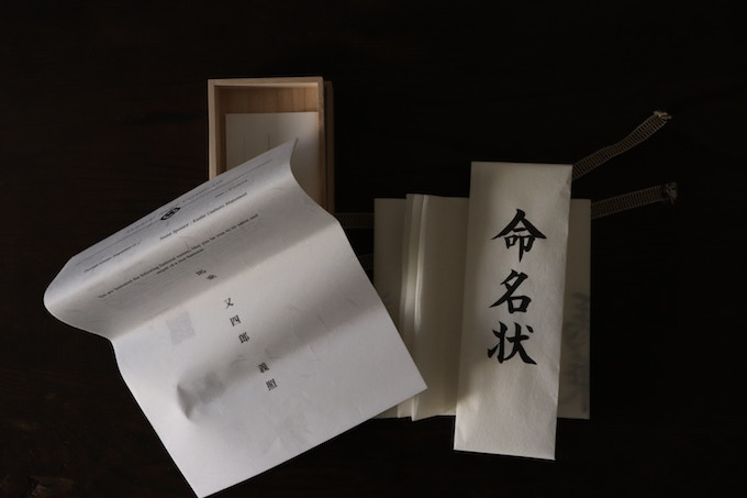 Backstories (left) and Certificate (right)