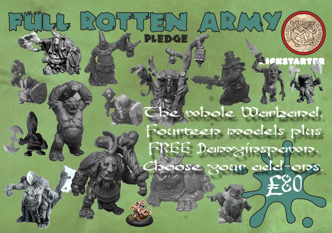 The Whole Warband. Fourteen models total plus FREE Damyinspawn for £80.  Choose your add-ons.