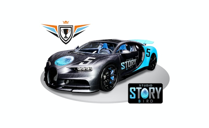 This amazing ride representing for STORYBIRD STUDIO.... Welcome onboard guys.