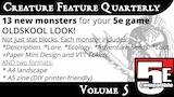 Creature Feature Quarterly Vol. 5 (5e compatible) thumbnail