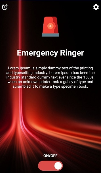 Emergency Ringer - Android version in development