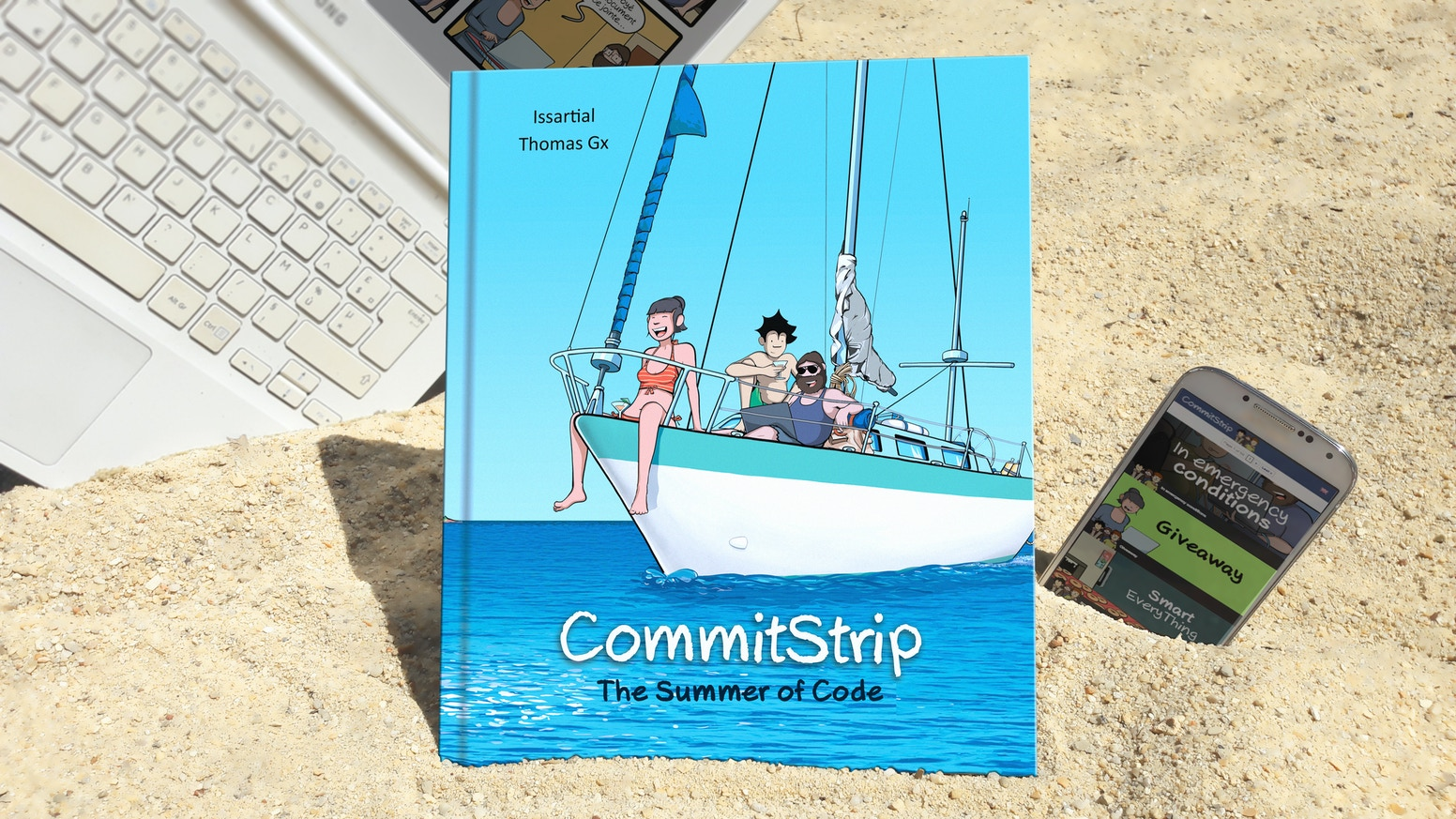 A new book filled with CommitStrip goodness, including our best comic strips, some brand new content and maybe YOU inside !You missed it ? Wait few days, you'll be able to get a copy on Backerkit.