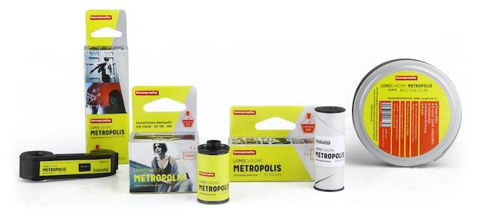 LomoChrome Metropolis XR 100–400 Film