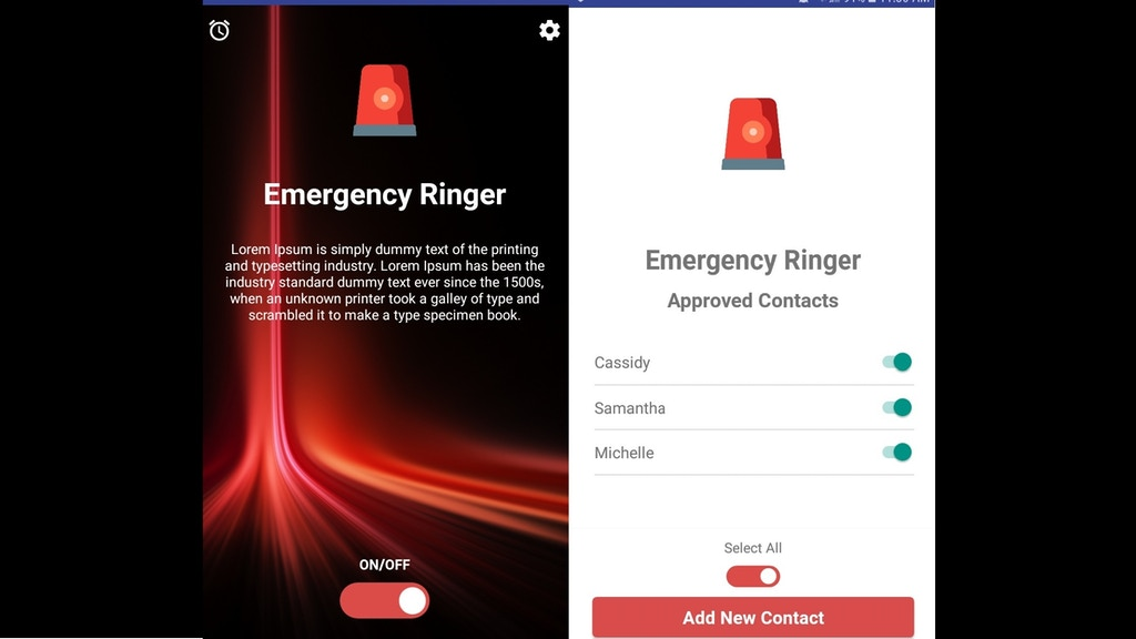 Project image for Emergency Ringer: Get through even when a phone is on silent