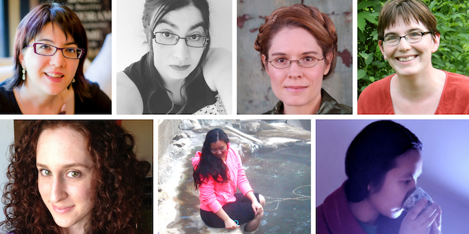Year 6 Solicited Poets: Betsy Aoki, Leah Bobet, Beth Cato, Ada Hoffmann, Annie Neugebauer, D.A. Xiaolin Spires, and Hal Y. Zhang