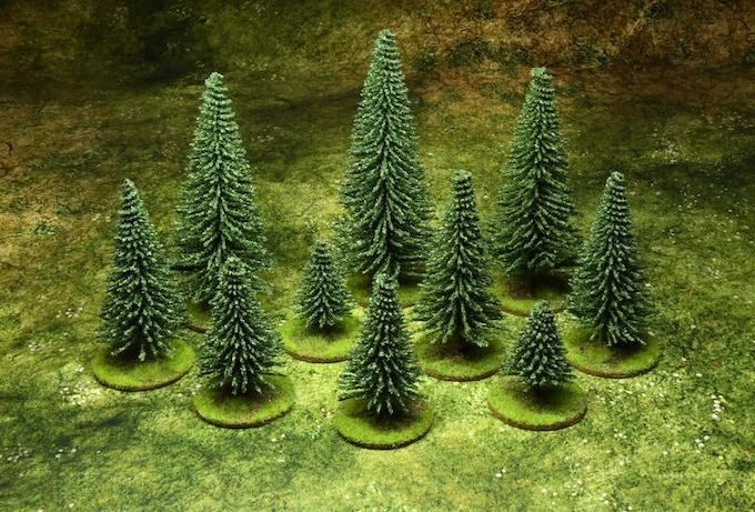 10 trees : 15 €