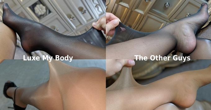 """(left) Luxe My Body   -   (right) The """"Other"""" Guys"""