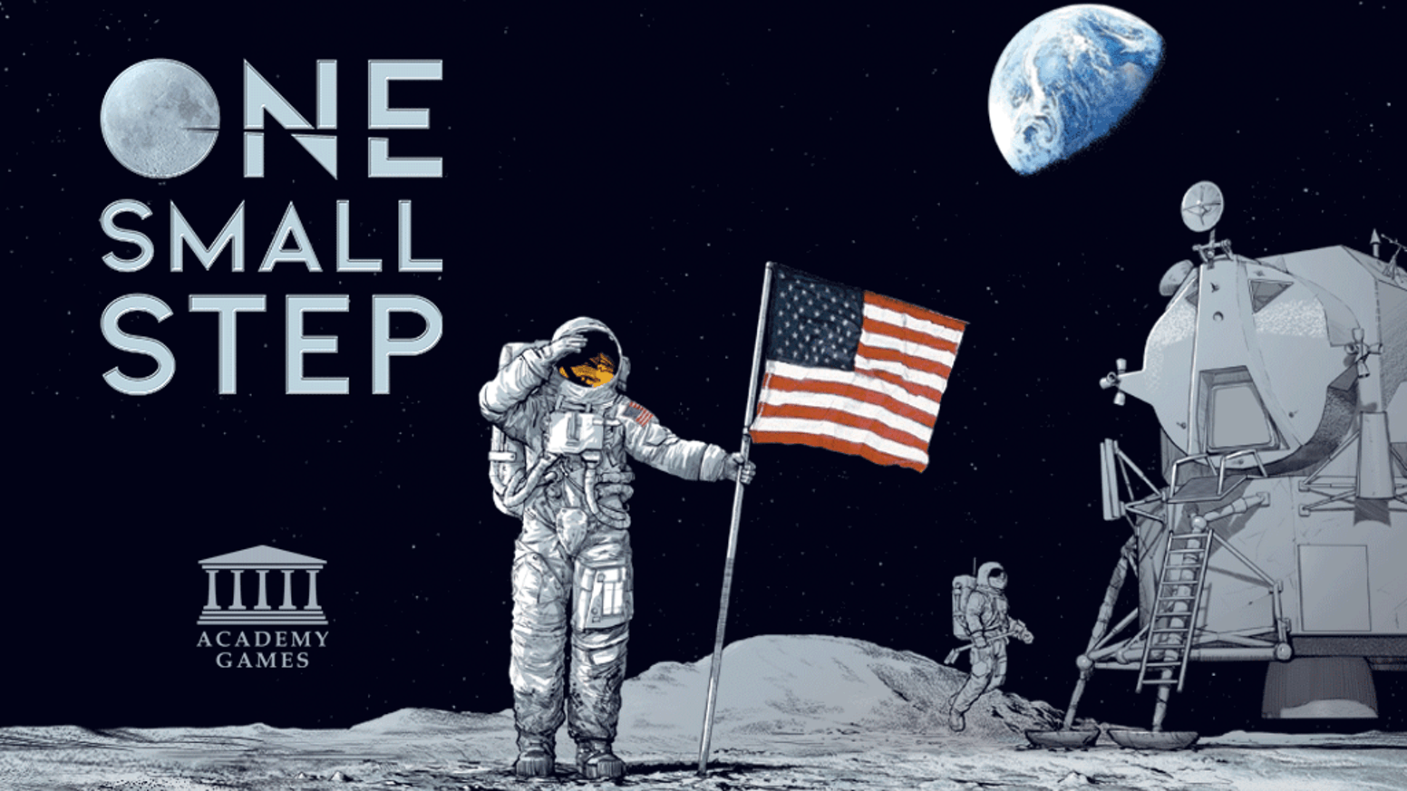 One Small Step by Academy Games — Kickstarter