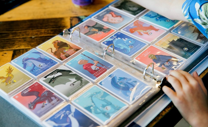 Collect all 256 Beautifully Illustrated Cards!