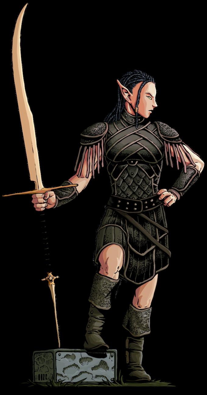 Elyrian Soldier