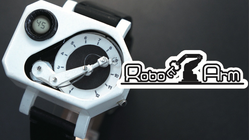 "Robot Arm Watch ""ロボットアーム ウォッチ"" project video thumbnail"