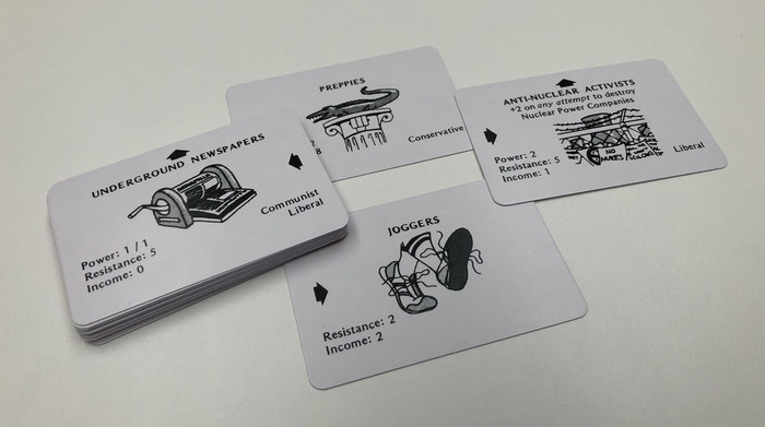 Reproduction cards.