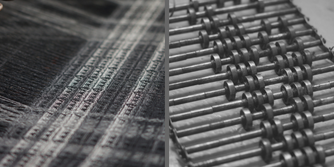THISTLE WEAVE - OUR SIGNATURE EMBLEM IS NOW WOVEN INTO THE FABRIC OF OUR VALUES