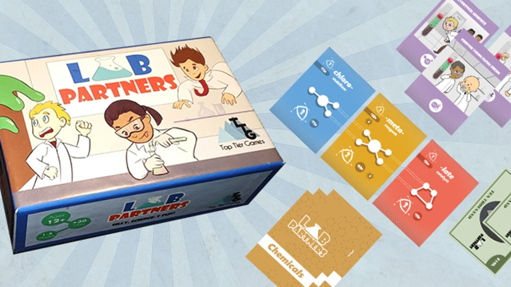 Lab Partners: A Game for Your Inner Mad Scientist