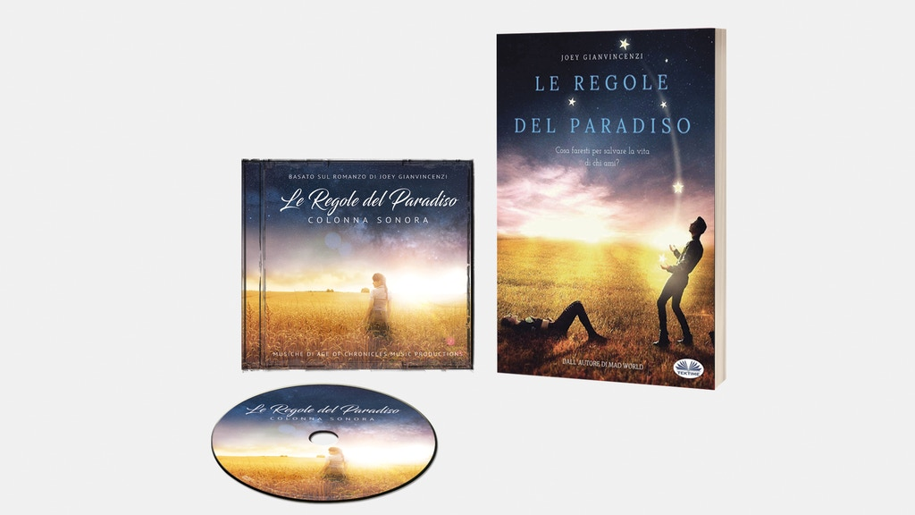 """Project image for """"Le Regole del Paradiso"""" Colonna Sonora basata sul romanzo"""