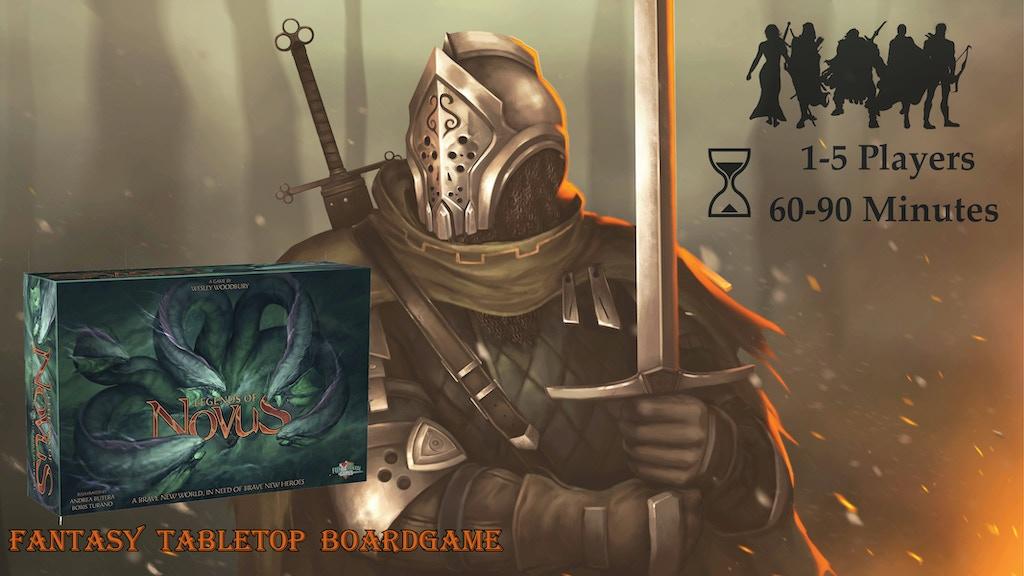 Legends of Novus project video thumbnail
