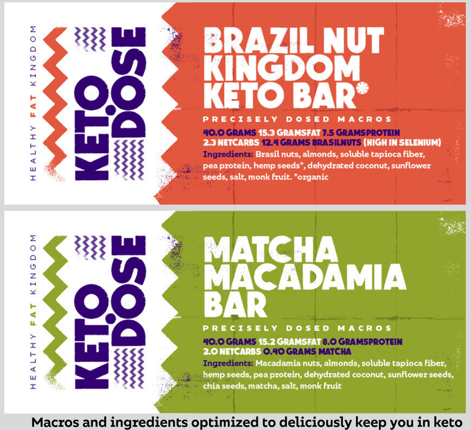 These bars use 0 sugar alcohols, are all-natural, and are not overly sweet.