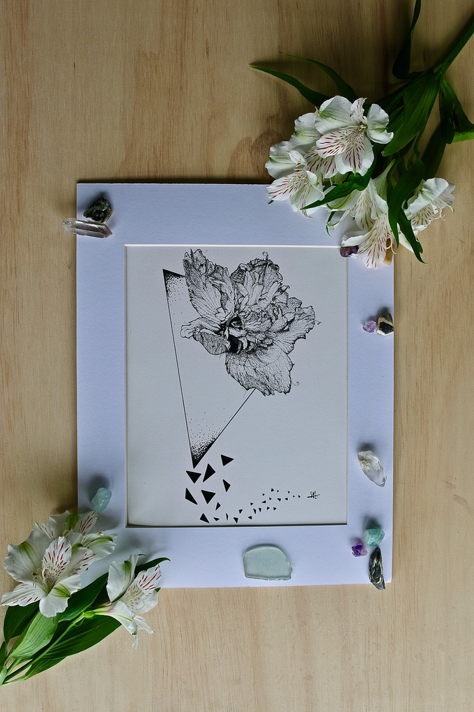 "The ""Rose of Sharon"" print"