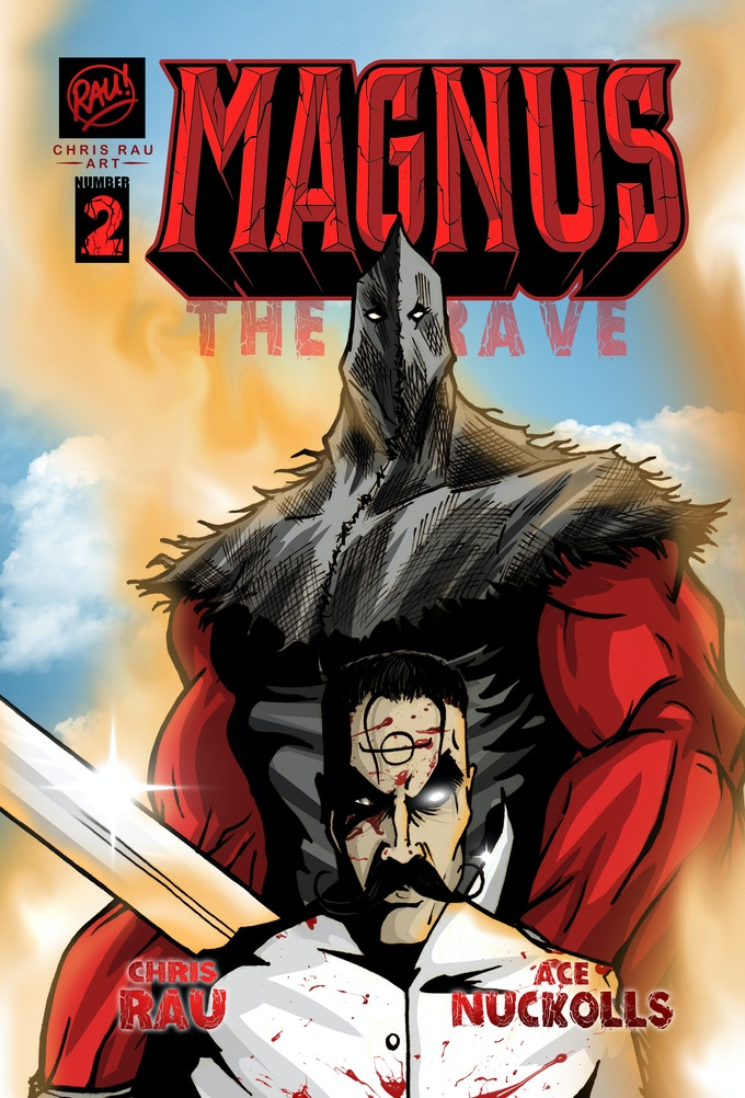 Magnus The Brave #2 is a 36-page comic in standard comic book size.