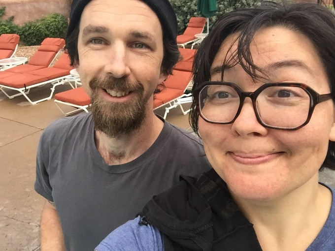 Ian (Chef/owners) and Marissa (Baker/owner)