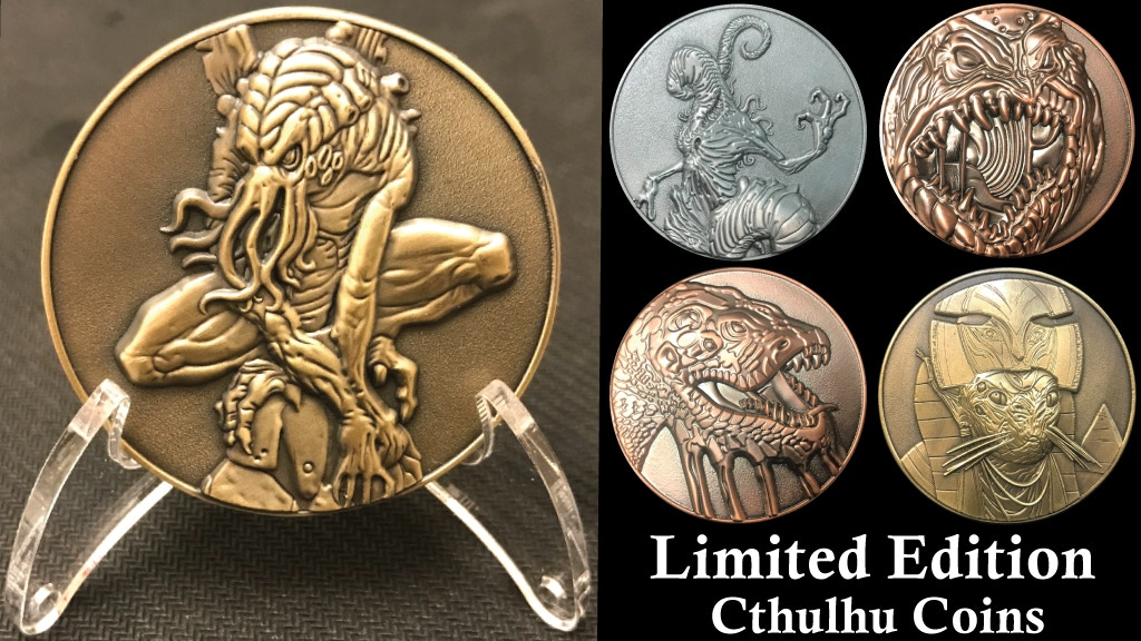 Cthulhu Mythos Coins: Limited Edition Final Minting project video thumbnail