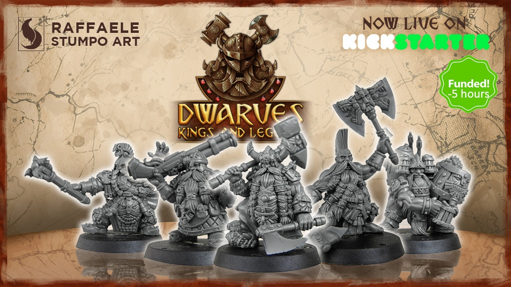 Dwarves: Kings and Legends project video thumbnail