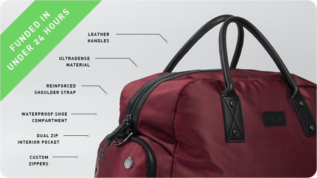 Arx Weekender - Unisex Vegan Travel Bags project video thumbnail