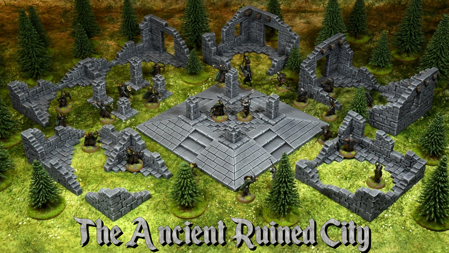 A collection of ruined building for tabletop RPGs and wargames!
