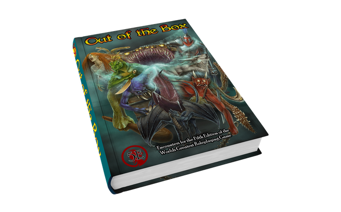 Out of the Box: Encounters for 5th Edition by Nerdarchy