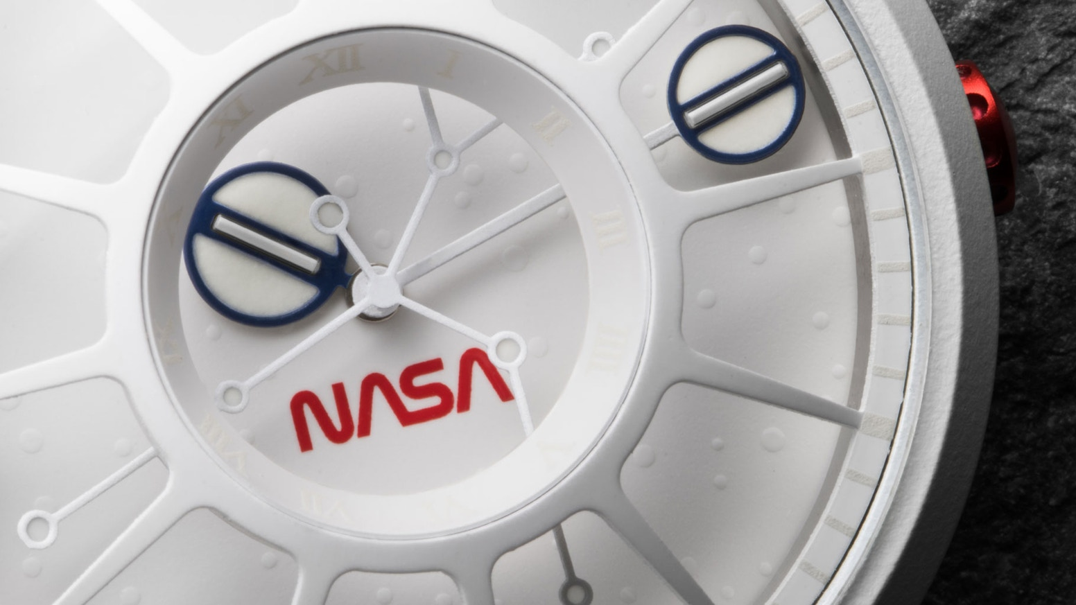 A glowing solar system on your wrist! A collection of watches to celebrate the 50th anniversary of the NASA Apollo 11 moon landing.