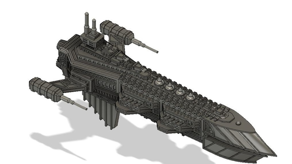 Project image for Golden Age Starships - The Arkhadian Imperium