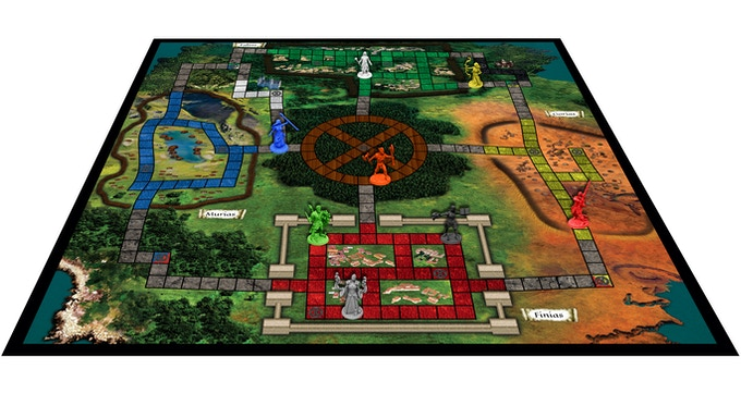 Cathracha: Celtic strategy board game