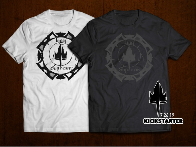 Samples of the tee shirts for the campaign