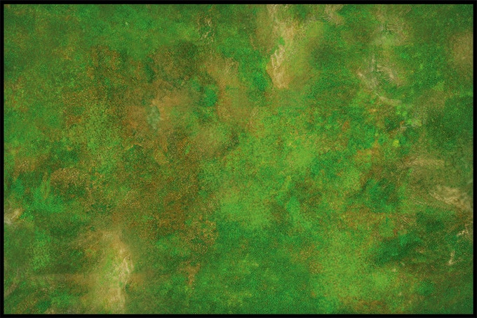 Our popular war terrain green mat available in 6 sizes