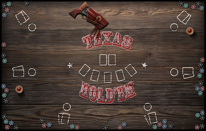 The Texas Holdem mat is is of our top selling mats. Available in 5 sizes Adler, Watson, Holmes, Moriarty, and Mycroft,