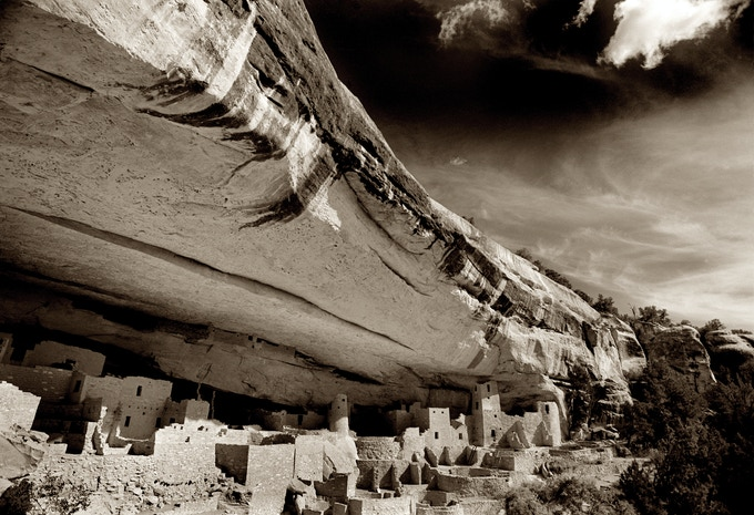 Mesa Verde, The Ancient Ones, 16x20  archival pigment print available as a reward