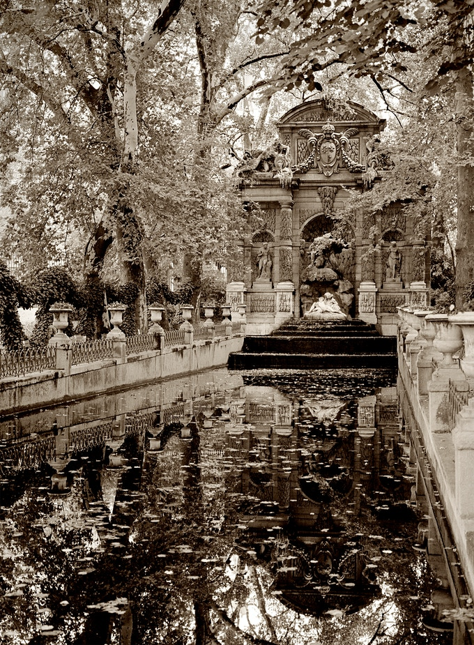 The Medici Fountain, Paris, 20x30 Fiber Base Print, (available as a reward)