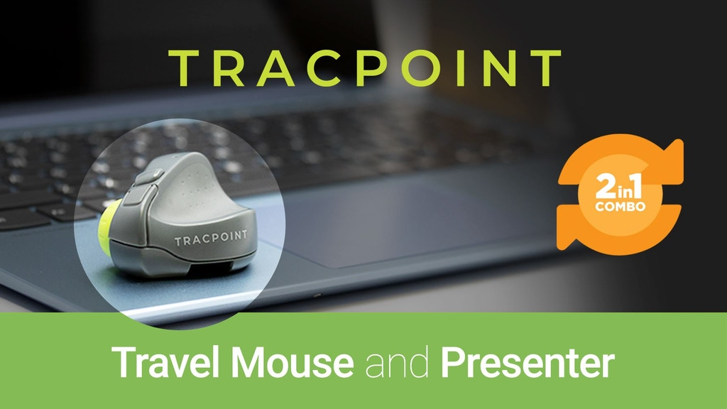 TRACPOINT - TRAVEL MOUSE and PRESENTER project video thumbnail