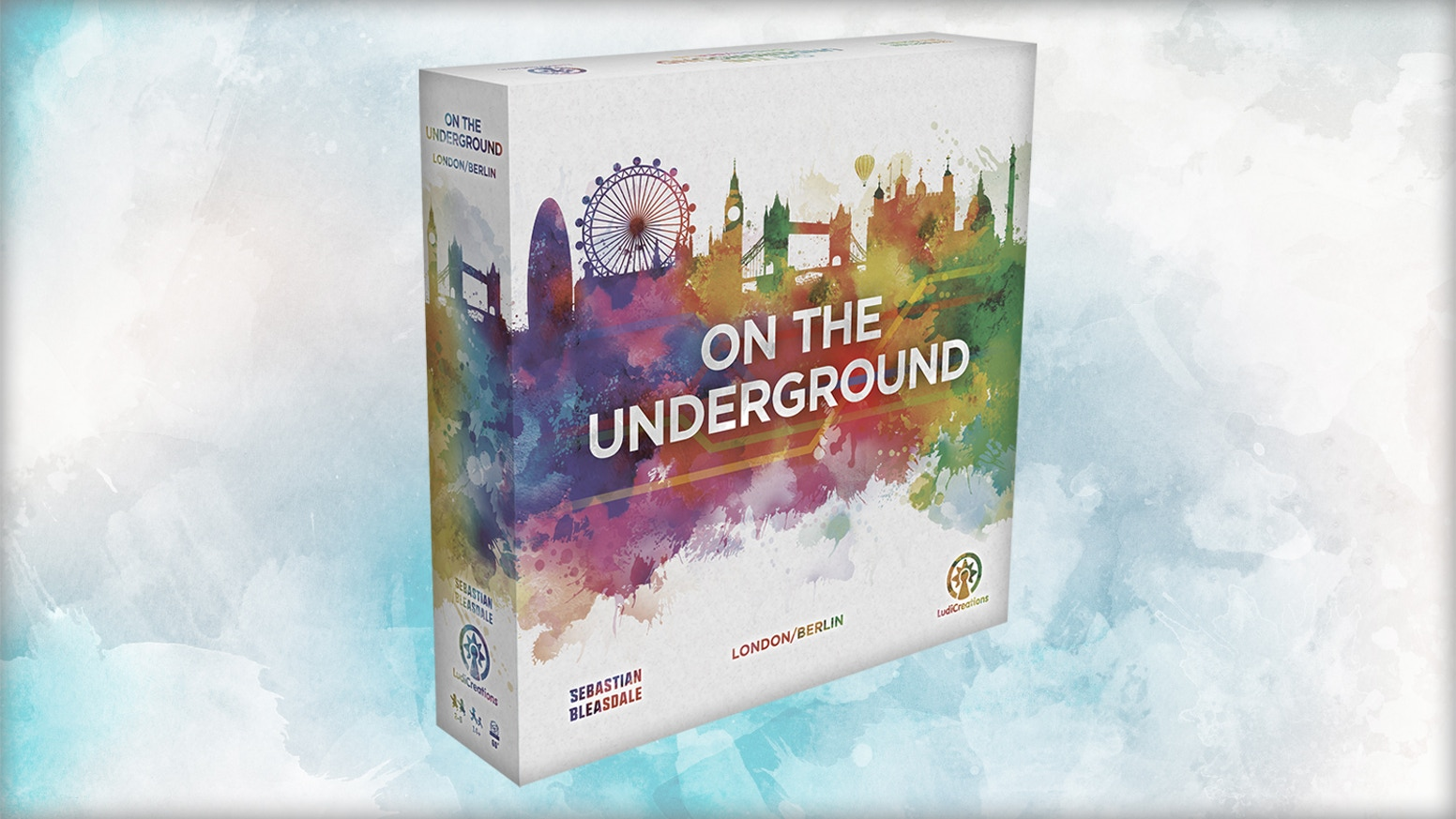 Develop the Underground and attract passenger traffic! A remastered edition of the clever network-building 1-hour game for 2-5 players.