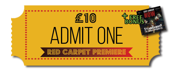 Pledge £10 or more - Admit One - Red Carpet Premiere