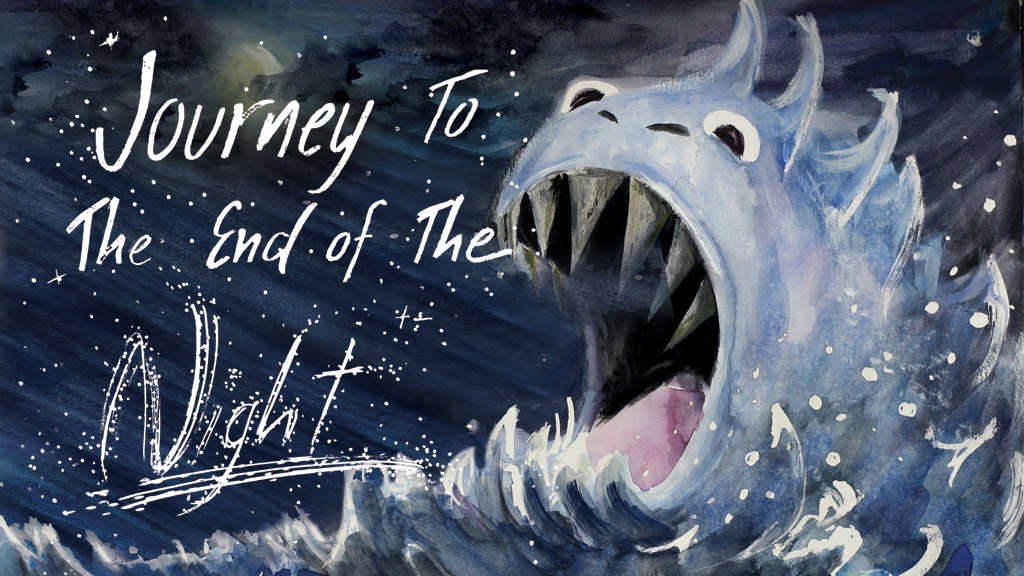 Journey to the End of the Night | A Children's Book project video thumbnail