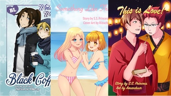 NEW Original Gay Comics and Novels